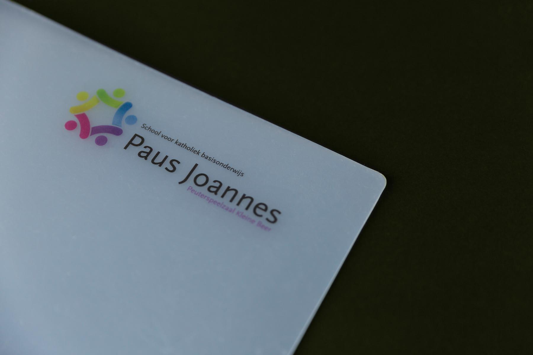 Rapportmap Paus Joannes