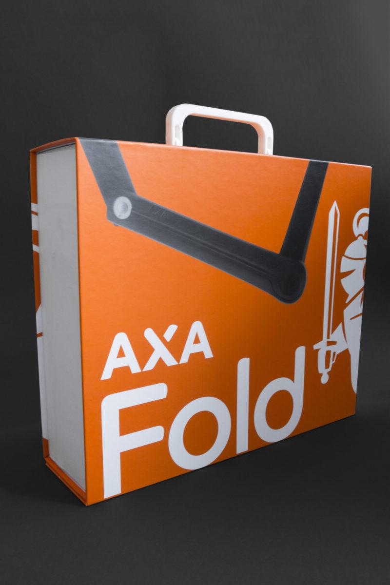 Presentatie koffer AXA