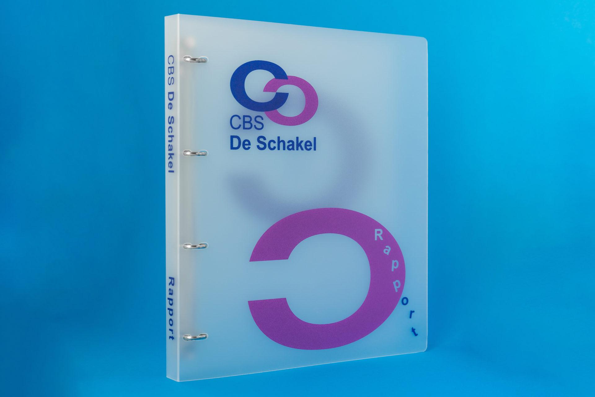PVC rapportmap De Schakel