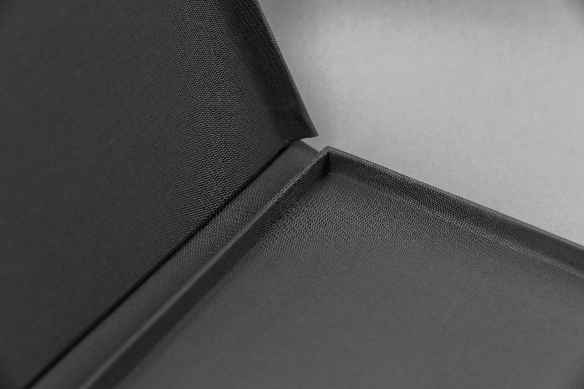Schanierdoos met leeslint