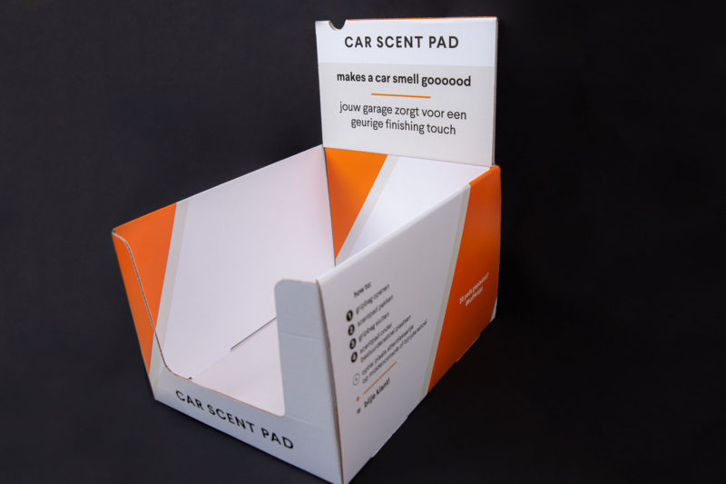 Toonbank display Car Scent Pad