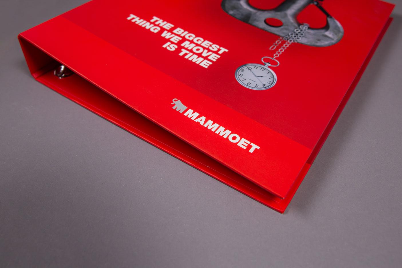 Ringband met pennenhouder Mammoet