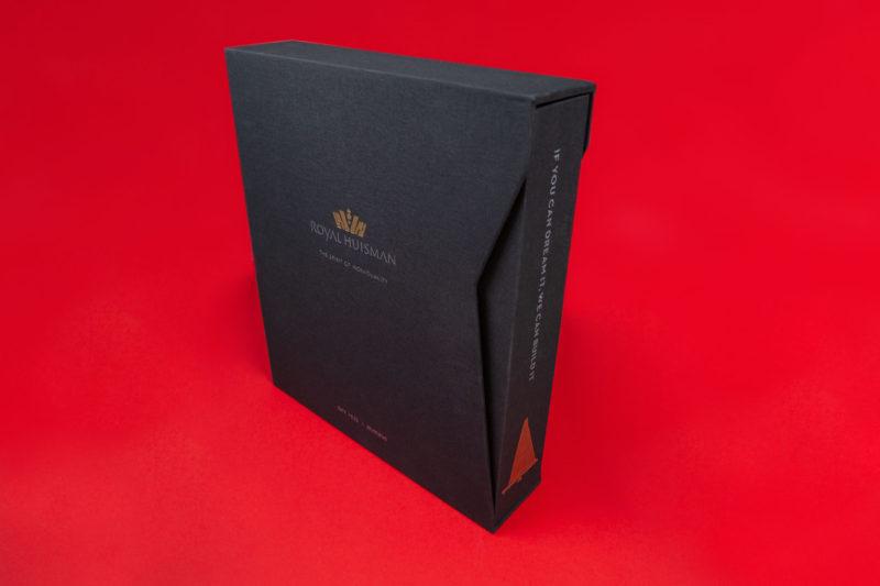 Linnen Ringband + Cassette Royal Huisman
