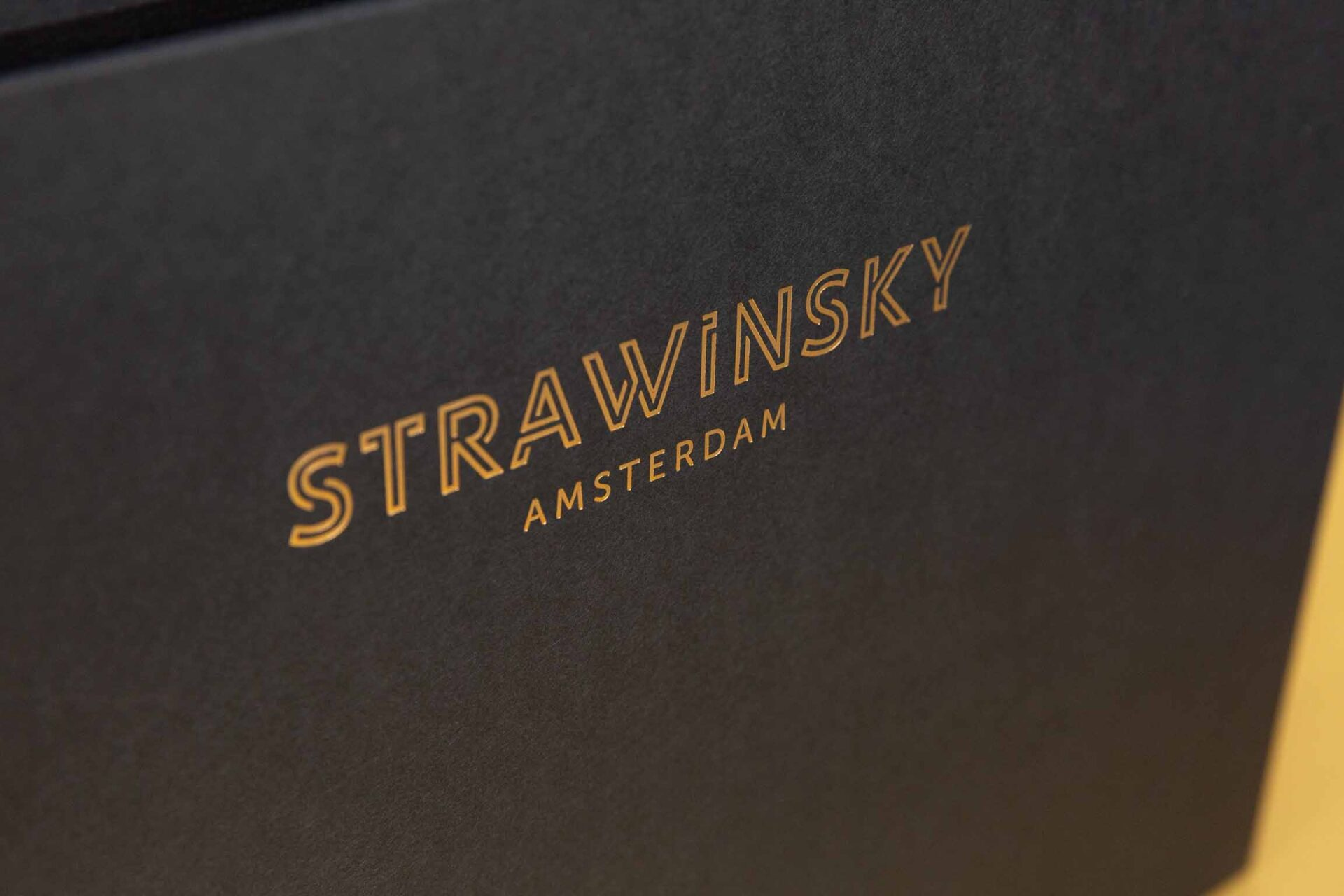 Liggend A4 ringband Strawinsky
